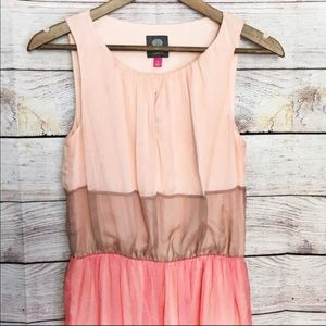 Vince Camuto Tank Style Tiered Dress Size 4